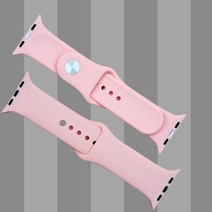 Watch Band Compatible with Apple watch Pink Sand